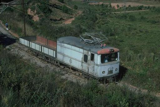 Goods motor coach/car transporter G-2, near São Cristovão, Campos do Jordão, 1997.