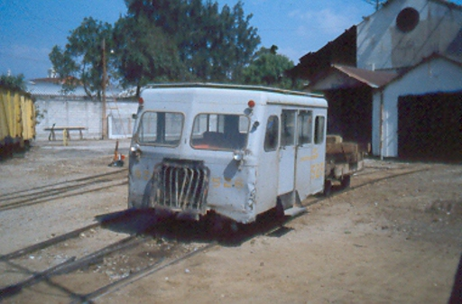 Rail car, Guatemala City.