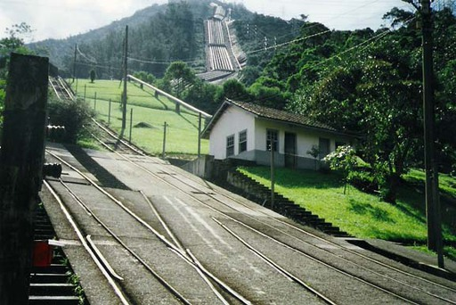 Cubatão, lower station.