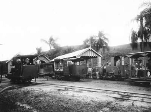 Steam engines of the CMSP, Caieiras.