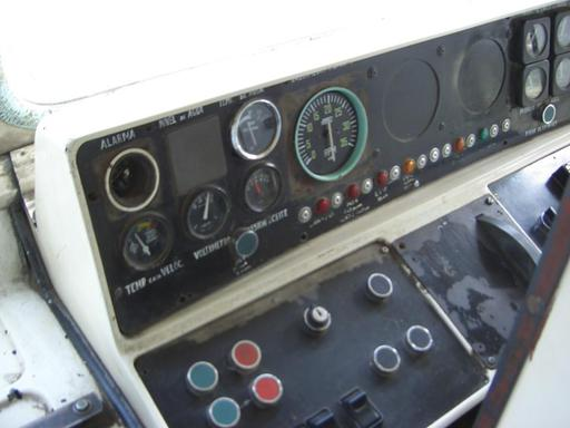 Controls of the Diesel train, TBA.