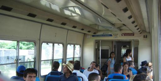 Inside the TBA-train.