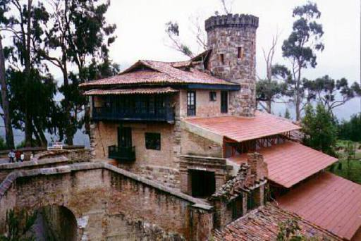 Upper station. Monserrate, Colombia.